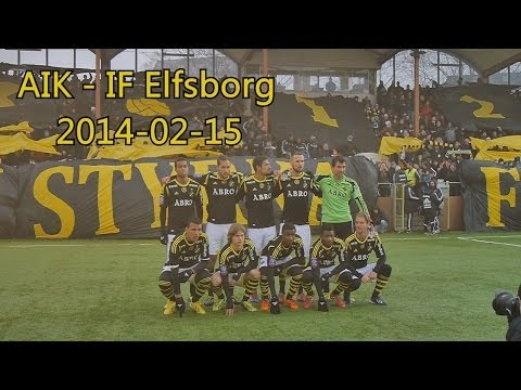 AIK - Elfsborg 2-1 (2014-02-15) Träningsmatch