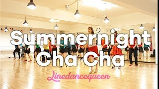 Video Summer Night Cha Cha Line Dance MP3, 3GP, MP4, WEBM, AVI, FLV Juni 2018