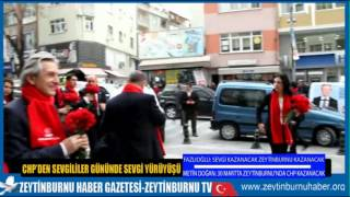 CHP Zeytinburnu Sevgi Yürüyüşü
