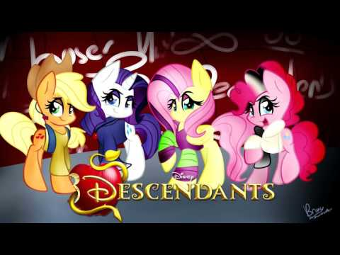 Rotten To The Core (Disney's Decendants Ponified) COVER