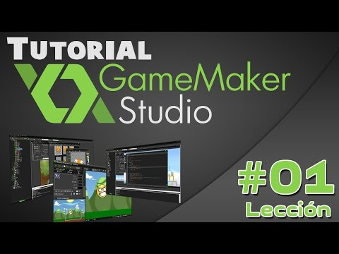 Introducción A Game Maker Studio Para Principiantes - Tutorial #01