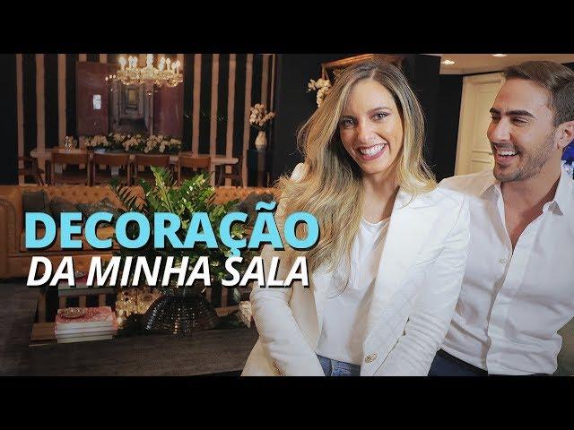 DECORAÇÃO DA MINHA SALA ft Gui Haji - Lelê Saddi