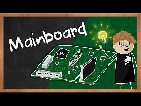 Wie funktioniert ein Mainboard / Motherboard? Erklärvideo von BYTEthinks   #Gaming-PC