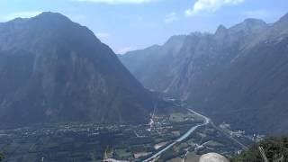Villard Reculas France  city photos : Uitzicht route Villard Reculas richting Alpe d'Huez juli 2015