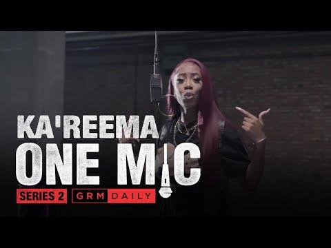 Ka'Reema – One Mic Freestyle | GRM Daily