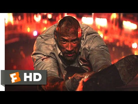 Skyscraper (2018) - Life & Limb Scene (6/10) | Movieclips