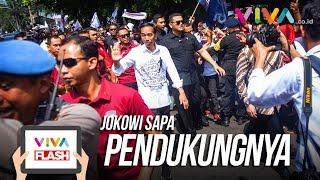 Video Keluar KPU Jokowi Sapa Pendukung Bareng Cak Imin MP3, 3GP, MP4, WEBM, AVI, FLV Maret 2019