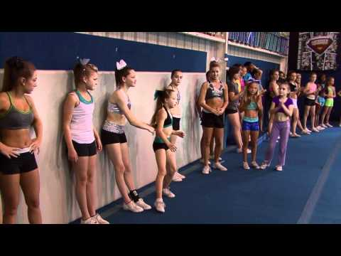 Cheer Extreme Tryouts Cheerleading & Gymnastics COMBINED! CHEER IS A SPORT! (Video by JTV) (видео)