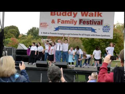 Watch video Down Syndrome: Mike Mulaney Interviews Buddy Walk Co-Chair Kerri Tabasky