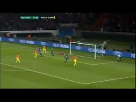 PSG 0-1 Barcelona Goal Messi | 02.04.2013
