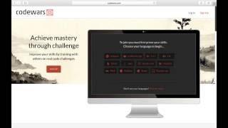 Practise coding using Codewars.com (and PyCharm)