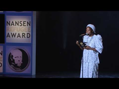 Sister Angélique - Nansen Refugee Award Ceremony