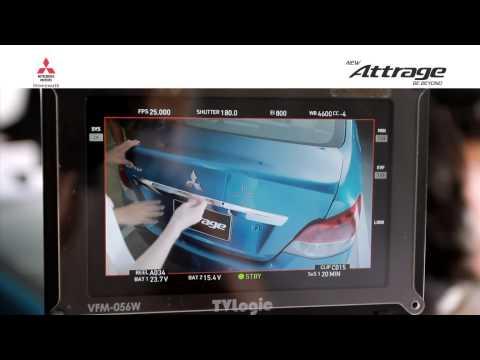 เบื้องหลังการถ่ายทำโฆษณา Mitsubishi ATTRAGE (แอททราจ) Behind the Scene HD