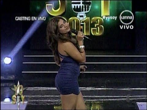 Yo Soy Jennifer Lopez (Chica con CUERPAZO IMPRESIONA) 16/05/2013 peru – yo soy 16 mayo – yo soy