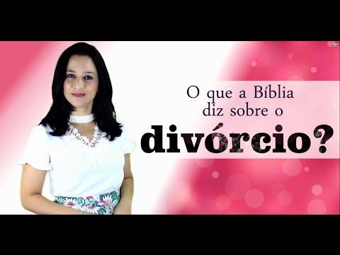 O que a biblia diz sobre o divorcio?
