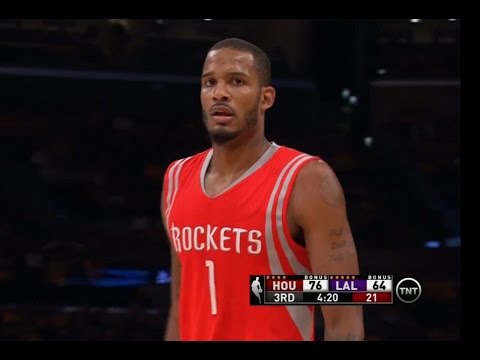 Trevor Ariza hits 5 threes in 2014-15 Rockets debut