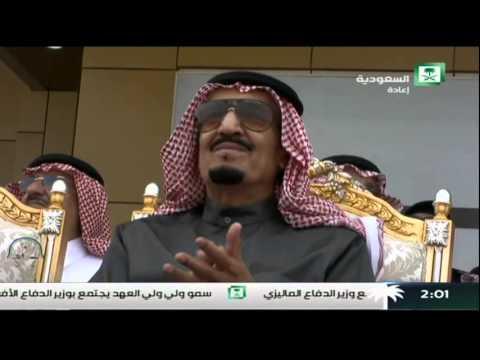 استعراض فريق صقور السعودية في مناورة رعد الشمال