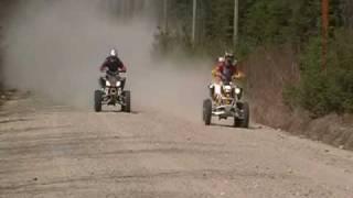 8. YFZ 450 vs DS 450 drag race