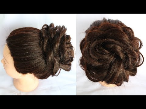 how to do a messy bun  hair bun  short hairstyles  braid hairstyles  hairstyle 2018