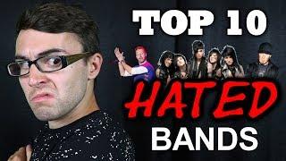 Video Top 10 Most HATED Bands! MP3, 3GP, MP4, WEBM, AVI, FLV Juli 2018