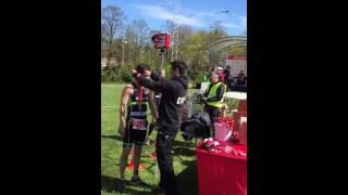 1e teamwedstrijd 2016 Mirandabad Amsterdam, Finish