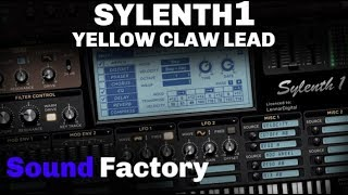 Sylenth1 Tutorial: Yellow Claw - Crash This Party ft. Tabitha Nauser