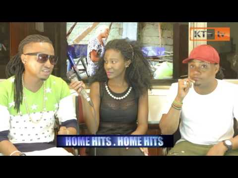 Chikuze And C New On  The Home Hits Show KTStv