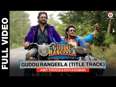 Video Guddu Rangeela (Title Track) | Guddu Rangeela | Arshad Warsi | Amit Sadh | Aditi Rao Hydari download in MP3, 3GP, MP4, WEBM, AVI, FLV January 2017