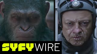 The cast of War for the Planet of the Apes - Andy Serkis, Steve Zahn and Amiah Miller, alongside director Matt Reeves - talks about motion capture work, how it impacts performance and working with Andy Serkis.►►Subscribe To SYFY Wire: http://po.st/SubscribeSYFYWireMore About War For The Planet of the Apes: War for the Planet of the Apes is an American science fiction film directed by Matt Reeves and written by Mark Bomback and Reeves. It is a sequel to the 2014 film Dawn of the Planet of the Apes and the third installment in the Planet of the Apes reboot series. The film stars Andy Serkis, Woody Harrelson, Steve Zahn, Amiah Miller, Karin Konoval, Judy Greer and Terry Notary. Principal photography began on October 14, 2015, in Vancouver.SYFY WIRE is a fan-first genre news and editorial destination dedicated to covering science fiction and nerd culture across TV, Film, Books, Comics, space and technology with up-to-the-minute news, in-depth analysis and content that drives conversation and debate.Visit SYFYWIRE.com: po.st/SYFYWIREFind SYFYWIRE on Facebook: po.st/LikeSYFYWIREFollow SYFYWIRE on Twitter: po.st/FollowSYFYWIREWar for the Planet of the Apes: Andy Serkis and Motion Capture Acting  SYFY WIREhttps://www.youtube.com/channel/UC985XM8r_uh-_znGrj8HG9w