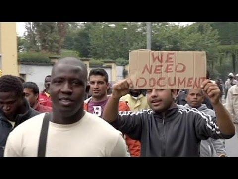 Μιλάνο: Διαμαρτυρία μεταναστών – Ζητούν έγγραφα για να δουλέψουν
