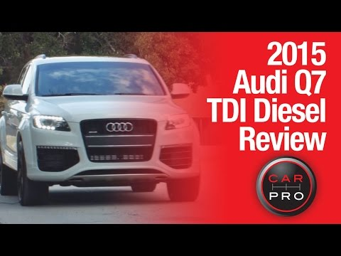 2015 Audi Q7 Diesel Review & Test-Drive