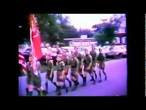 Stafford Founders Day Parade 1966 - no sound