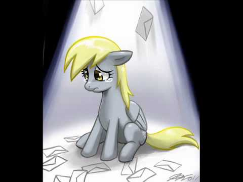 censoring - Today, our beloved Derpy's name was taken away, and her eyes were 