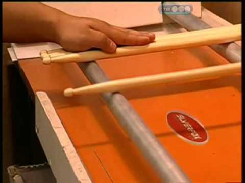 Изготовление барабанных палочек своими руками
