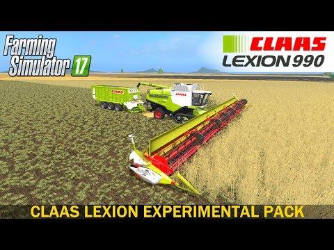 Claas Lexion Experimental v3.0