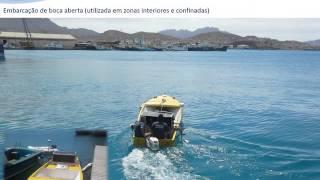Levantamento hidrográfico em Cabo Verde: Portos de Barlavento