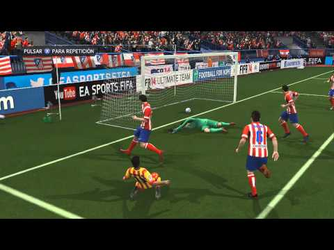 FIFA14 | Analizando la UEFA Champions League 2014 | Atlético Madrid – FC Barcelona Cuartos Final