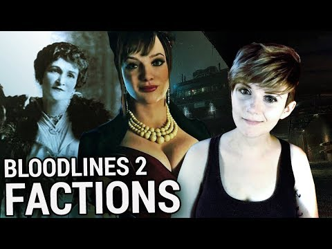 BLOODLINES 2 FACTIONS! Who are the PIONEERS?