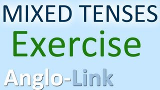 English Tenses Exercise, Grammar Practice, Learn English Tenses