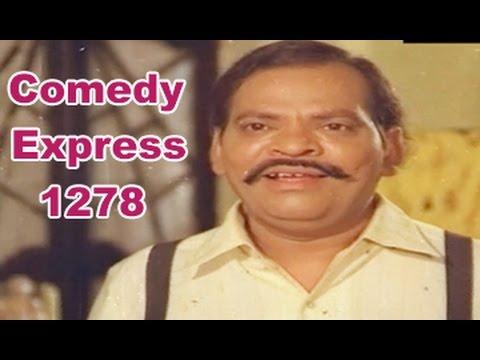 Comedy Express 1278 || Back to Back || Telugu Comedy Scenes