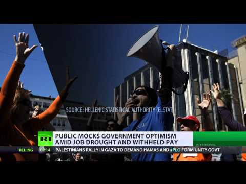 Grecian Earn: Greeks live in 'nightmare' amid job drought, withheld pay