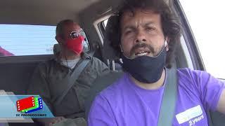 SE REUNIERON EN LA PLAZA Y LUEGO CARAVANA: VIDEO DEL BANDERAZO EN LA CUMBRE