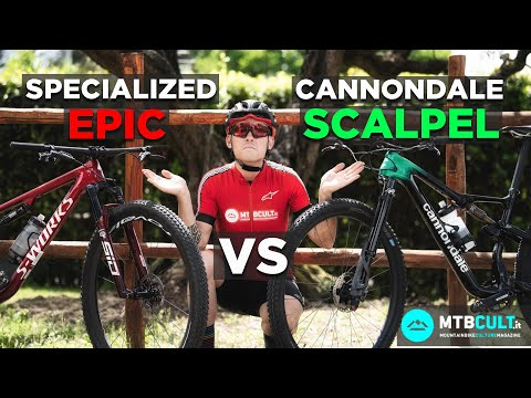 COMPARATIVA - Specialized Epic vs Cannondale Scalpel