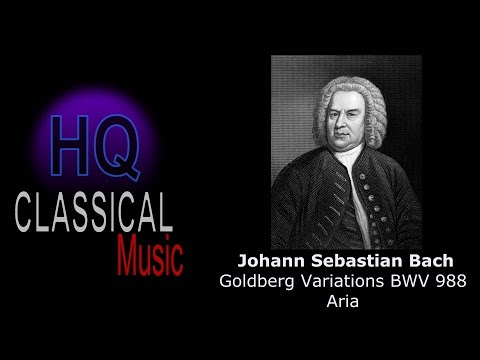 BACH – Goldberg Variations BWV 988 Aria (Hannibal theme) – High Quality Classical Music Piano