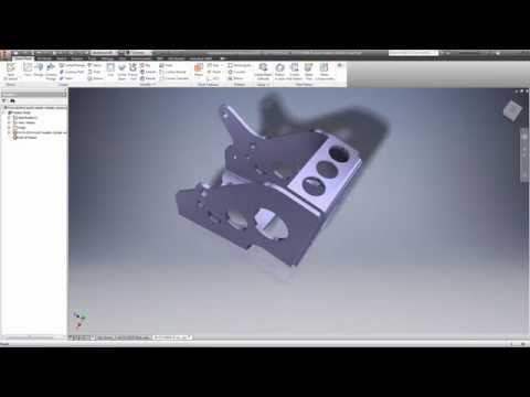 Create complex sheet metal parts. (video: 1:32 min.)
