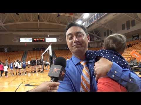 Volleyball vs. Winthrop - 10/17/15