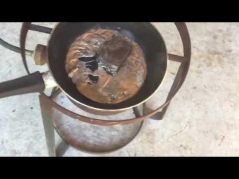 Melting Bismuth a diamagnetic metal
