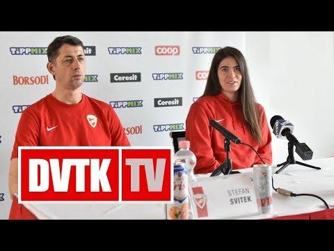 Sajtótájékoztató az Aluinvent DVTK - Vasas mérkőzés előtt