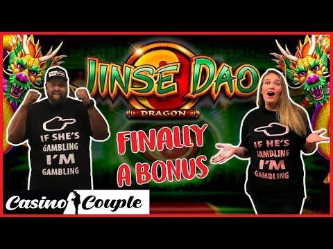 🐲JINSE DAO DRAGON🐉FINALLY BONUSES AND 🍒VERY CHERRY🍒 WAS FUN! Casino Couple 🎰
