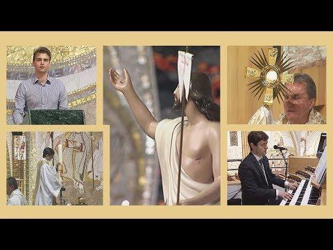 2020-04-11 2020-04-11 Nagyszombat esti feltámadási szentmise a Gazdagréti Szent Angyalok Plébánián